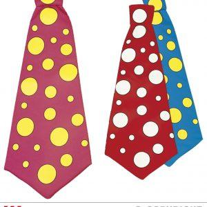 Cravate clown