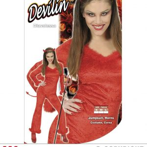 Diablesse velour rouge