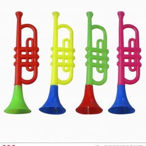 Trompette colorée