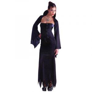 Vampiresse sexy robe longue
