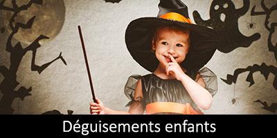 Vente de déguisements enfant Halloween