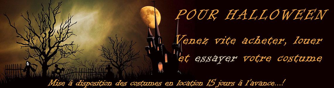 Préparez vous pour Halloween