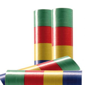 CARTON 100 X 20 SERPENTINS MULTICOLORES 4 M