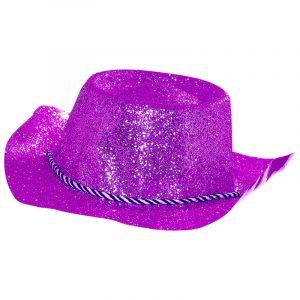 Chapeau cowboy fushia