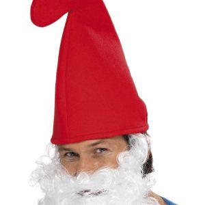 Chapeau rouge recourbé père noël