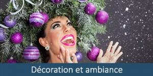Décoration et ambiance de Noël