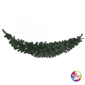 GUIRLANDE HORIZONTALE BRANCHES SAPIN NOBLE 180 CM 180 TIPS