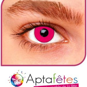 LENTILLES FANTAISIE - PINK OUT - DUREE 1 AN
