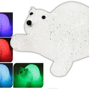 OURS POLAIRE LED COULEURS ASSORTIES