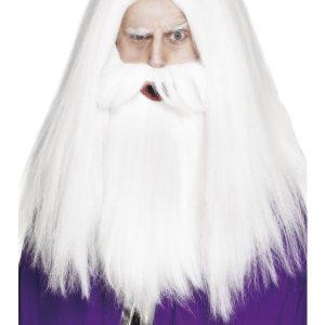 Perruque Père Noël lisse