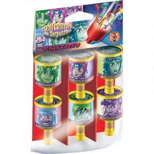 SACHET DE 6 POPPERS PERSONNAGES ASSORTIS