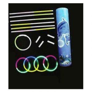 Tube 100 bracelets lumineux