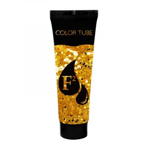 Tube gel paillettes or