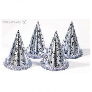 Chapeaux coniques argent