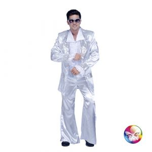 Costume disco king argent