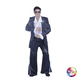 Costume disco king noir