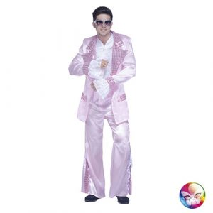 Costume disco king rose