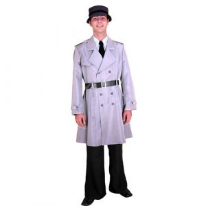 Costume inspecteur gris et noir