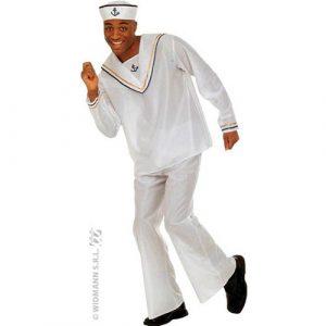 Costume marin blanc