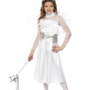 Déguisement ange de Noël enfant blanc