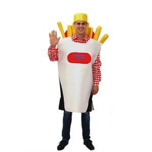 Déguisement cornet de frites