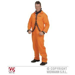 Déguisement détenu orange