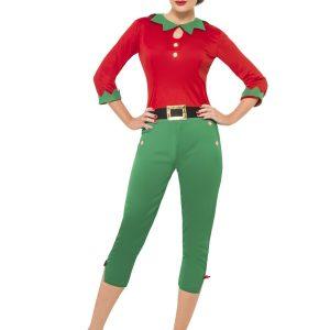Déguisement lutine Noël pantalon