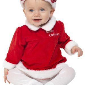 Déguisement petite mère Noël enfant
