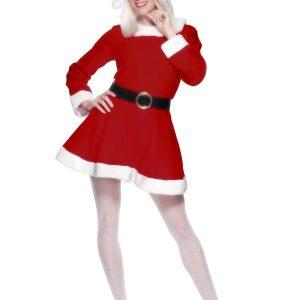 Déguisement Mère Noël robe mi longue