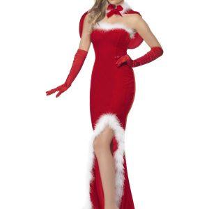 Déguisement Mère Noël robe longue