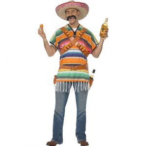 Déguisement mexicain tequila shooter