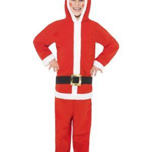 Déguisement père Noël enfant capuche