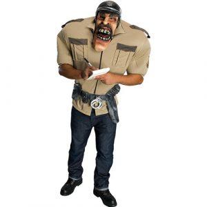Déguisement policier big bruizer avec masque
