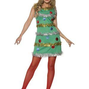 Déguisement sapin de Noël femme