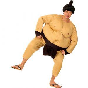 Déguisement sumo mousse