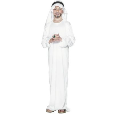 Costume enfant arabe blanc