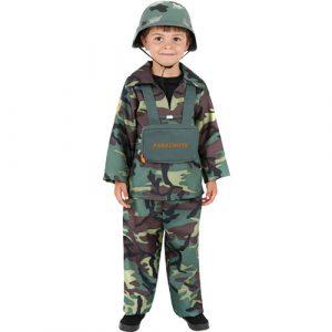 Costume enfant armée de terre