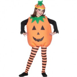 Costume enfant citrouille orange
