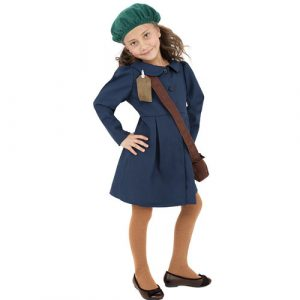 Costume enfant deuxième guerre mondiale fille