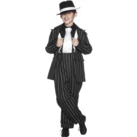 Costume enfant années 40 noir