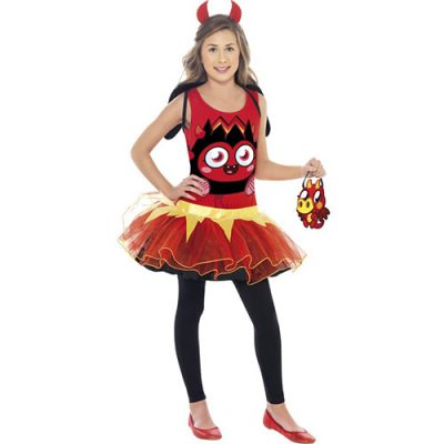 Costume enfant monstre Moshi Diavlo rouge