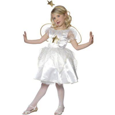 Costume enfant petit ange blanc star