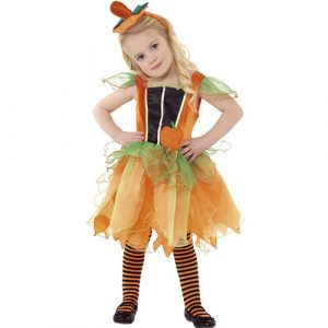 Costume enfant petite fée citrouille
