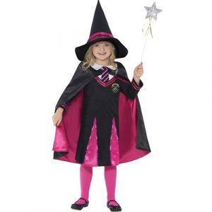 Costume enfant petite sorcière écolière