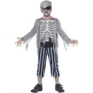 Costume enfant pirate bateau fantôme