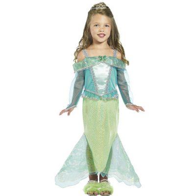 Costume enfant princesse sirène