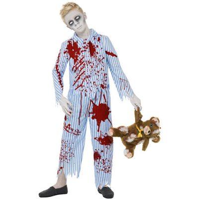 Costume enfant pyjama zombie
