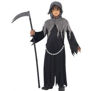 Costume enfant sombre faucheuse