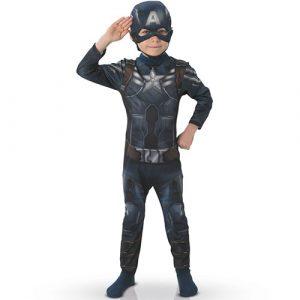Costume enfant Captain America Marvel Winter soldier