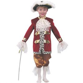 Costume enfant Casanova charmant